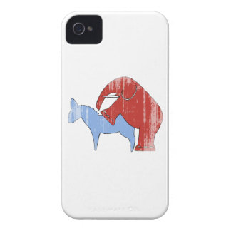 SCREW DEMOCRATS Faded.png iPhone 4 Case-Mate Cases