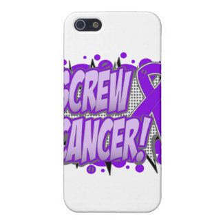 Screw GIST Cancer Comic Style Cases For iPhone 5