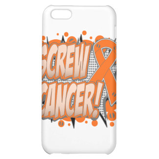Screw Leukemia Cancer Comic Style Cover For iPhone 5C