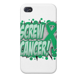 Screw Liver Cancer Comic Style iPhone 4 Cover