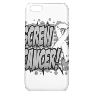 Screw Lung Cancer Comic Style iPhone 5C Case