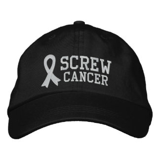 Screw Lung Cancer Baseball Cap