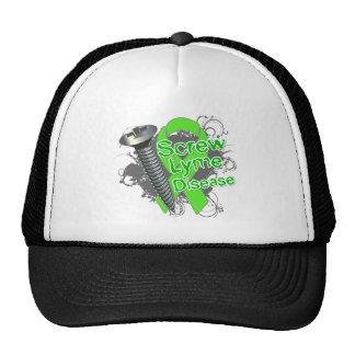 Screw Lyme Disease Mesh Hat
