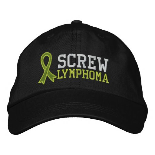 Screw Lymphoma Baseball Cap