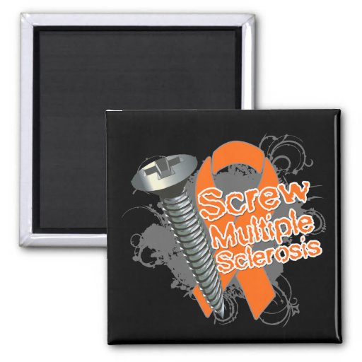 Screw Multiple Sclerosis Magnets