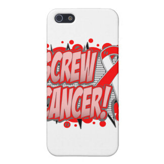 Screw Oral Cancer Comic Style Cover For iPhone 5