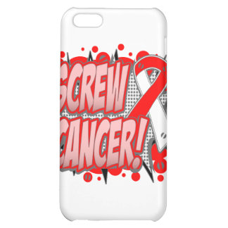 Screw Oral Cancer Comic Style iPhone 5C Case