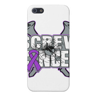 Screw Pancreatic Cancer iPhone 5 Cases