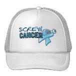 Screw Prostate Cancer Cap