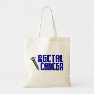 Screw Rectal Cancer 2 Budget Tote Bag