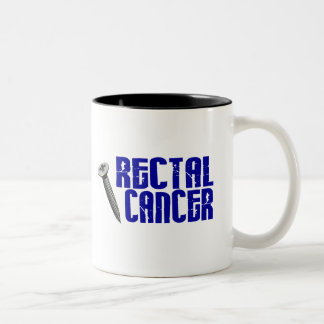 Screw Rectal Cancer 2 Coffee Mugs