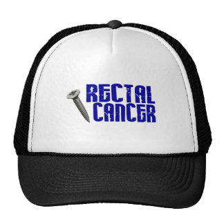 Screw Rectal Cancer 2 Mesh Hats