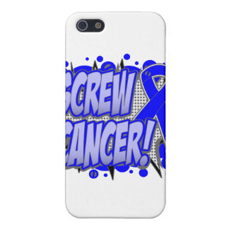 Screw Rectal Cancer Comic Style iPhone 5 Cases