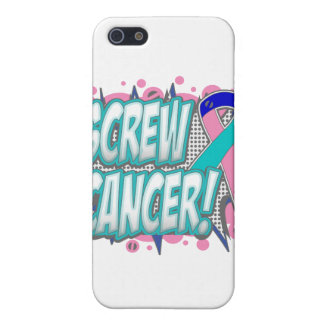 Screw Thyroid Cancer Comic Style iPhone 5 Cover