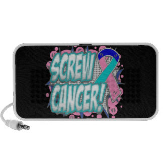 Screw Thyroid Cancer Comic Style Travelling Speakers