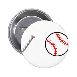 Screwball Pinback Buttons