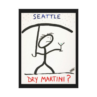 Screwballs™ Seattle Canvas Art