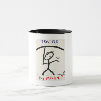 Screwballs™ Seattle Martini Coffee Mug