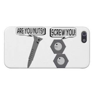 Screwy Nuts iPhone 5 Cases