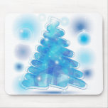 Scribble Christmas Tree Mouse Mat