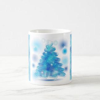 Scribble Christmas Tree Mugs