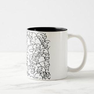 Scribble Cow Mug