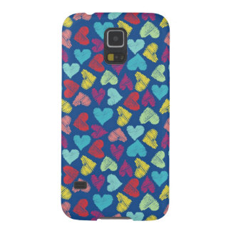 Scribble Heart Cases For Galaxy S5