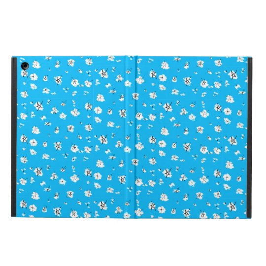 Scribble Star Pattern iPad Case