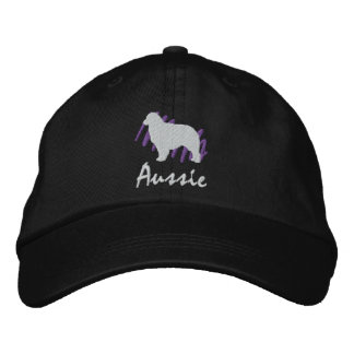 Scribbled Aussie Embroidered Hat