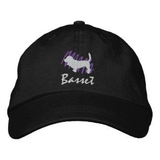 Scribbled Basset Baseball Cap