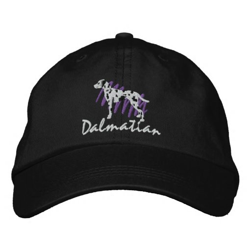Scribbled Dalmatian Embroidered Hat