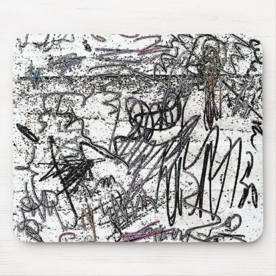 Scribbles Mouse Pad