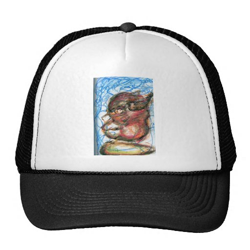 Scribbles of Meditation Trucker Hats