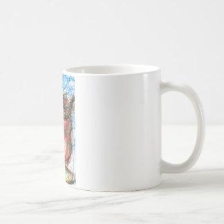 Scribbles of Meditation Coffee Mug