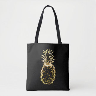 Scribbly Pineapple Tote Bag