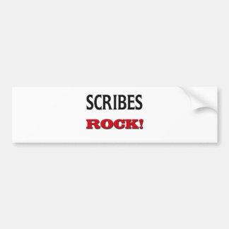 Scribes Rock Bumper Sticker