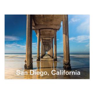 Scripps Pier in San Diego, California Postcard