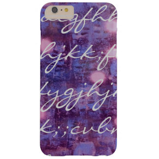 Script Barely There iPhone 6 Plus Case