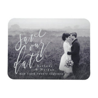 SCRIPT SAVE OUR DATE MAGNET