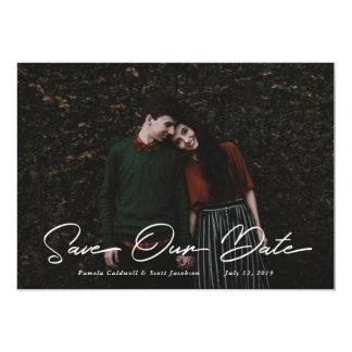 Script Save the Date Invitation
