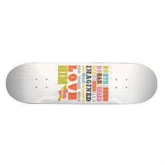 Scriptural Bible Verse - 1 Corinthians 2:9 Skateboard Deck