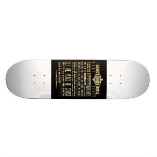 Scriptural Bible Verse - Colossians 3:12-13 Skateboard Deck