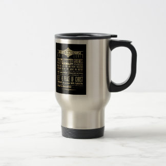 Scriptural Bible Verse - Colossians 3:12-13 Stainless Steel Travel Mug
