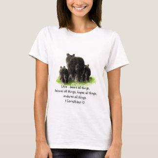 Scripture 1 Corinthians 13:4 Love is T-Shirt