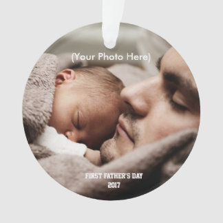 Scripture and Photo, First Father's Day