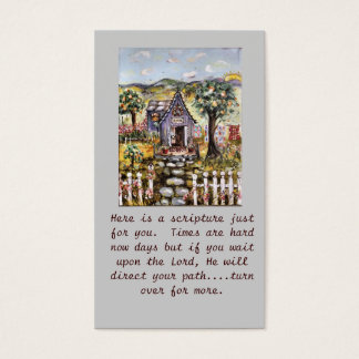 Scripture Cards Handout