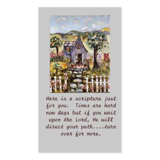 Scripture Cards Handout Business Card Templates