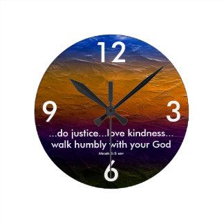 Scripture clock