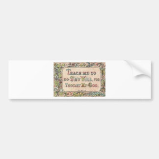 scripture fresh bumper stickers
