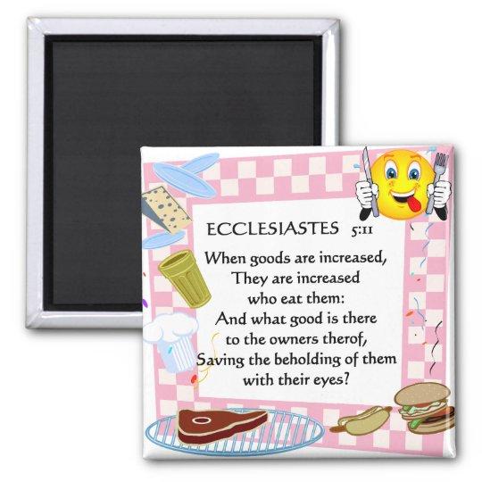 scripture fridge magnet